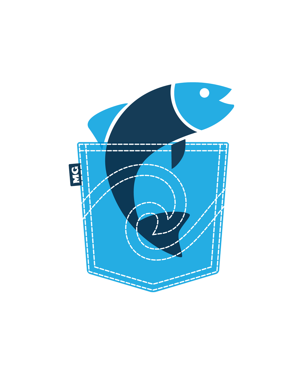 Sea Pocket Aquarium Logo