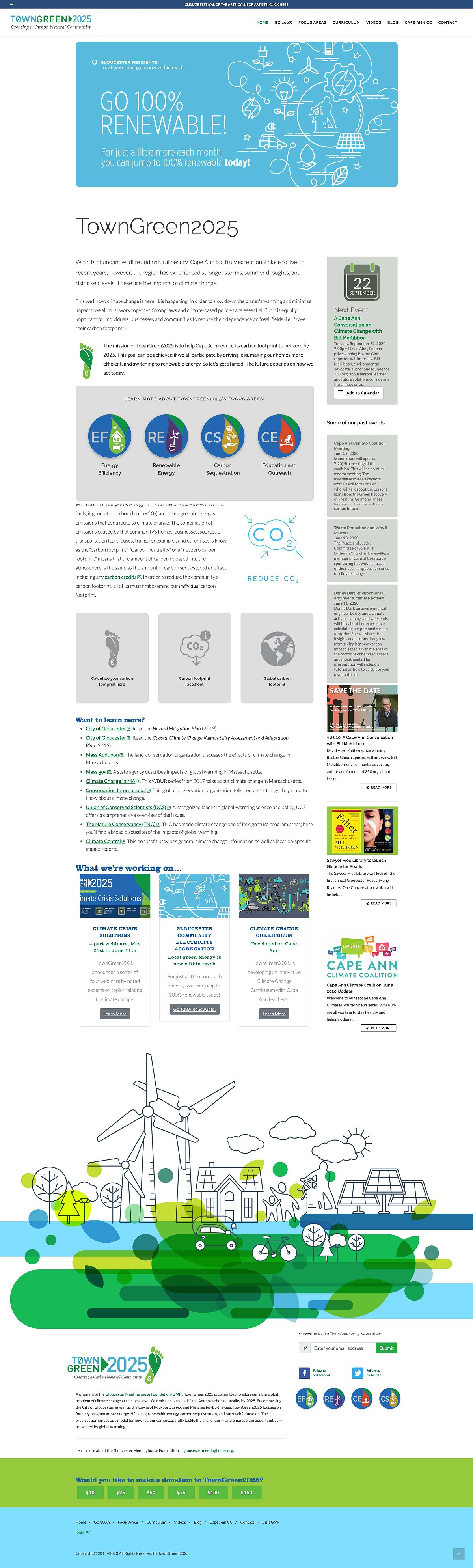 TownGreen 2025 Website